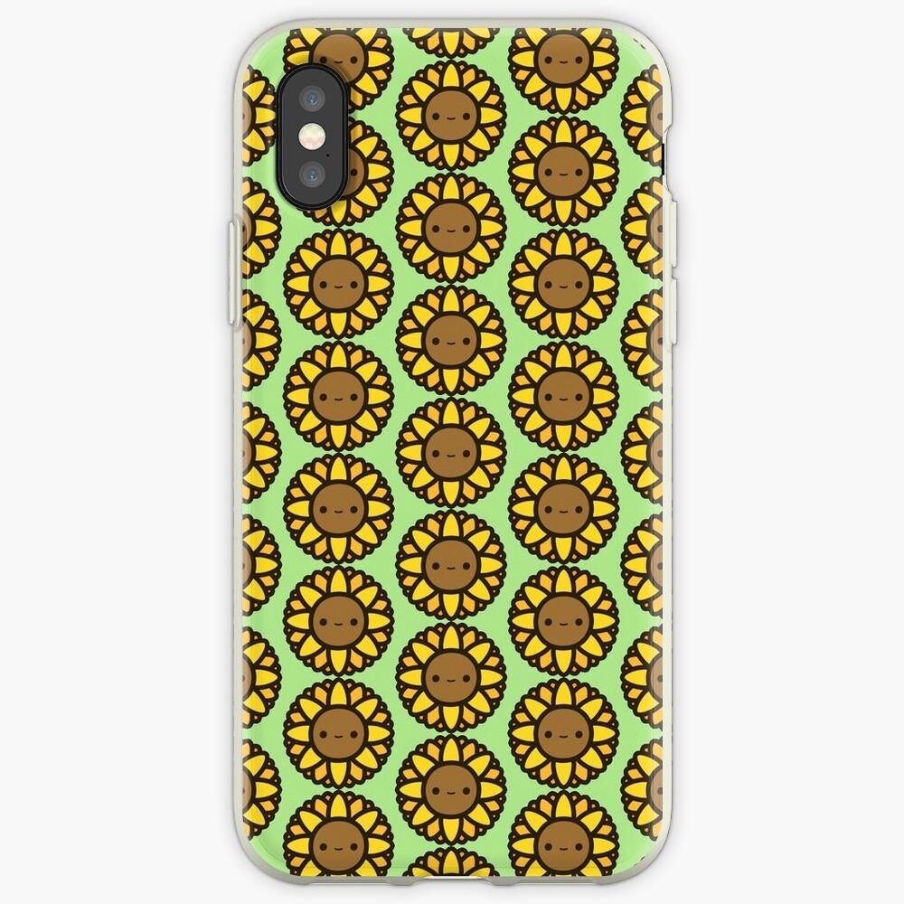 Cute sunflower iPhone Case & Cover