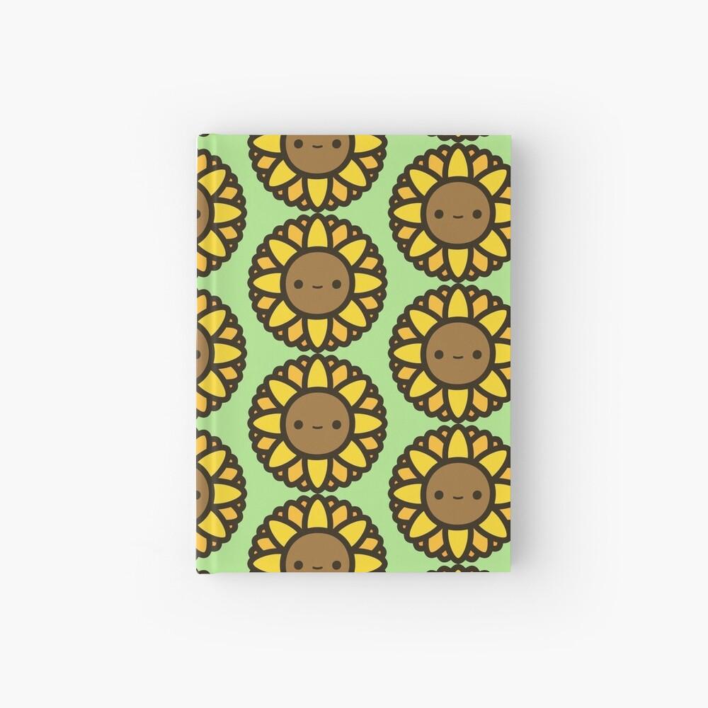 Cute sunflower Hardcover Journal