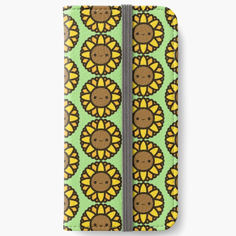 Cute sunflower iPhone Wallet