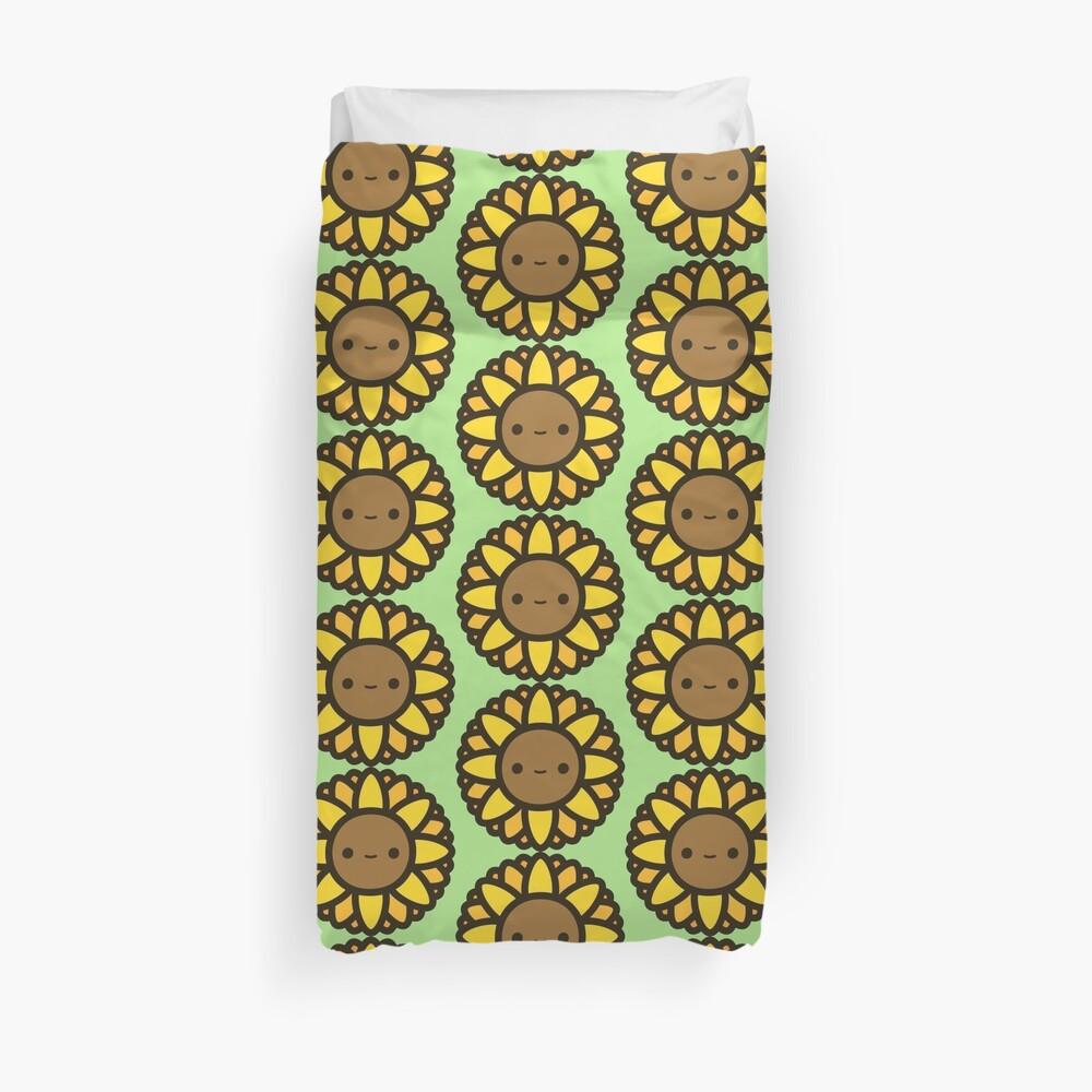 Cute sunflower Duvet Cover
