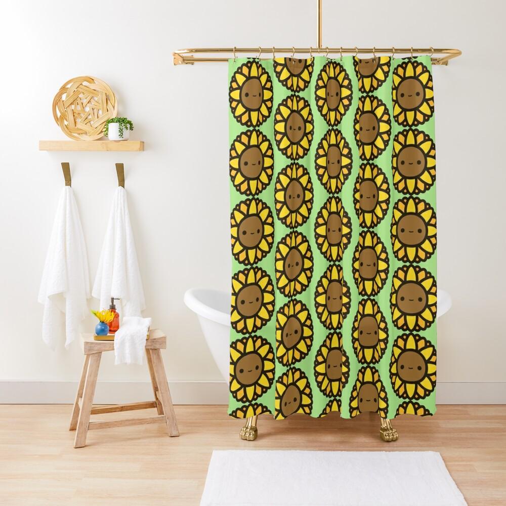 Cute sunflower Shower Curtain