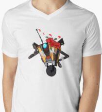 Borderlands Claptrap V-Neck T-Shirt