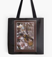 ABSTRACT SNOW SCENE Tote Bag