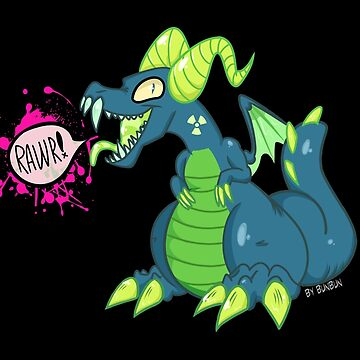 |ToxicDragon| RAWR!~ by GummyRaptor