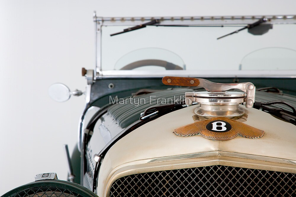 Vintage Bentley by Martyn Franklin