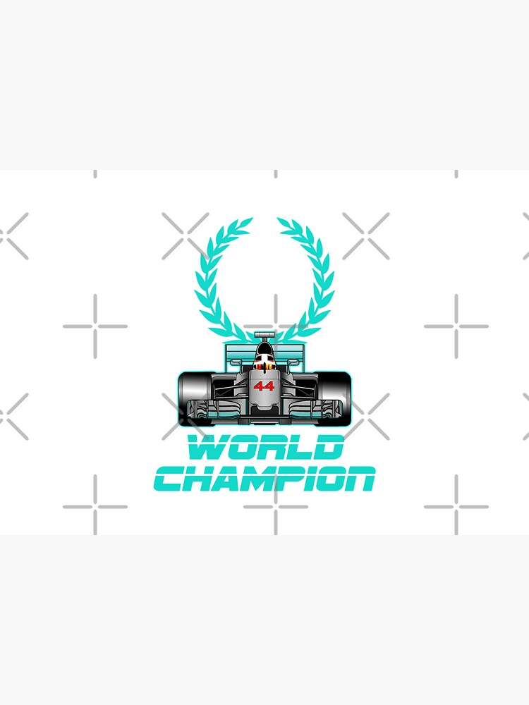Lewis Hamilton Forever World Champion by ideasfinder