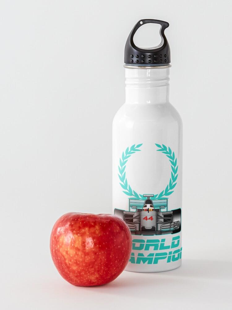 Alternate view of Lewis Hamilton Forever World Champion Water Bottle