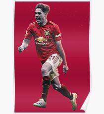 Daniel James - Manchester United FC - The Future Poster
