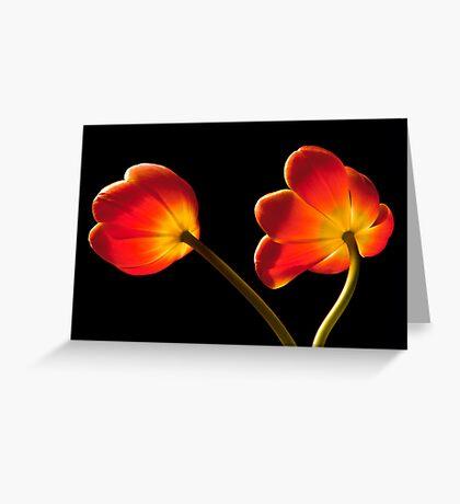 Tulip Dance Greeting Card
