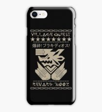 Monster Hunter Required - Brachydios iPhone Case/Skin