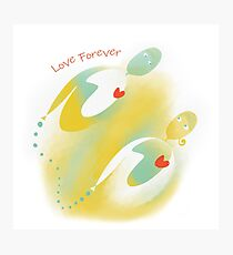 Love Forever Lámina fotográfica