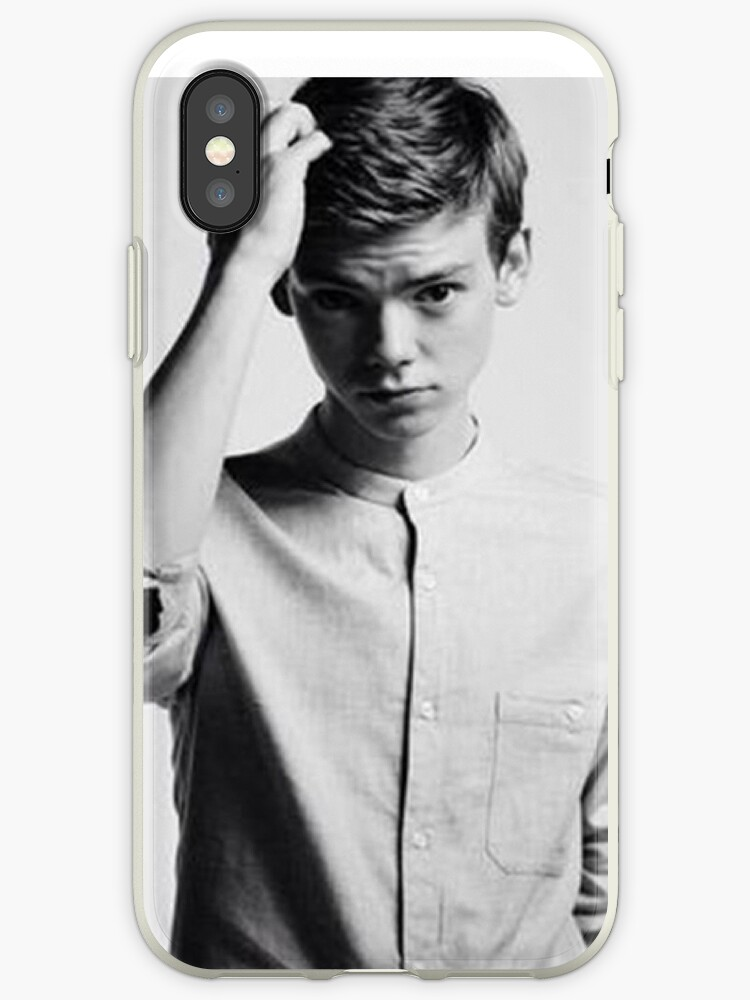 reputable site 04c46 fdf5d 'Thomas Brodie-Sangster 9' iPhone Case by A5-TheGlue