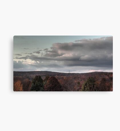 Bathed in Fading Sunlight Canvas Print