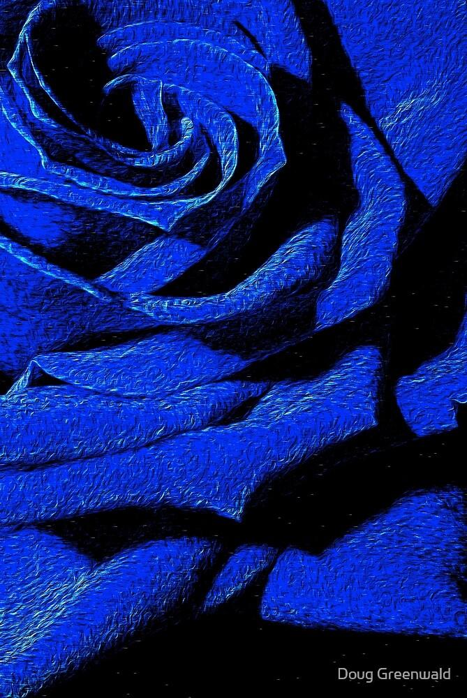Blue Rose by Doug Greenwald