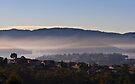 Hobart Morning mist by Odille Esmonde-Morgan