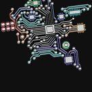 circuit board by sabrina card