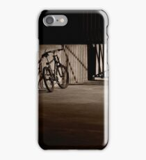 Bicycle in the Shadows iPhone Case/Skin