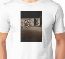 Bicycle in the Shadows Unisex T-Shirt