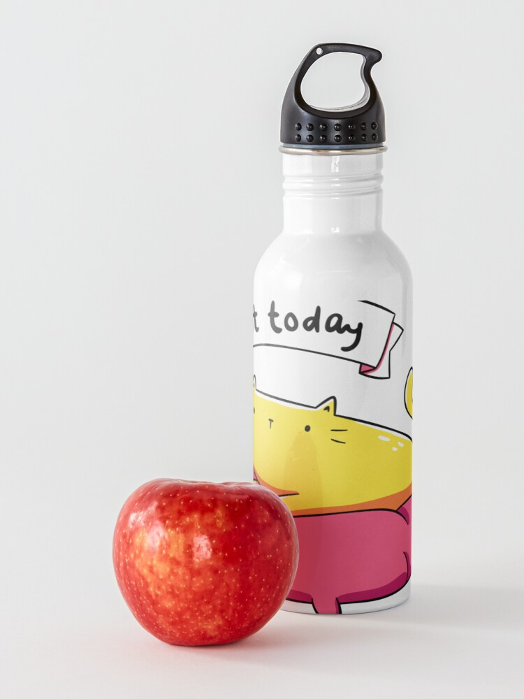 Alternate view of Not Today Cat Water Bottle