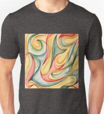 Acuarela 4 Camiseta ajustada