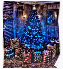 HDR - Tree and Presents Poster
