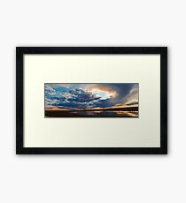 Stir the Sky Framed Print