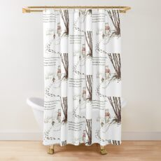 You are BRAVE (transparent background) Shower Curtain