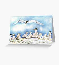 The Tern Family Gathering Greeting Card