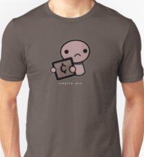Judging you (dark background) Unisex T-Shirt