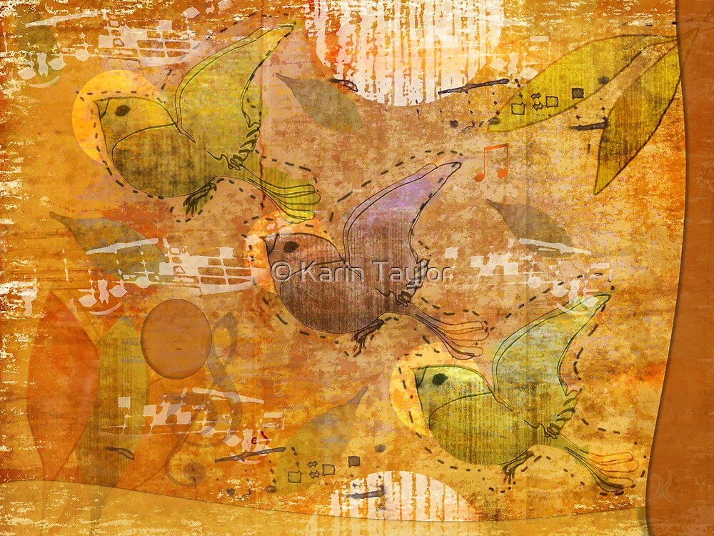 song birds by © Karin Taylor
