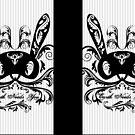 'Earth Needs You' Matoki Pin Stripe Design by AngelTripStudio