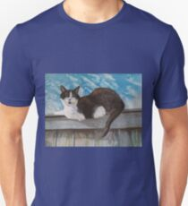 sitting on the fence Unisex T-Shirt