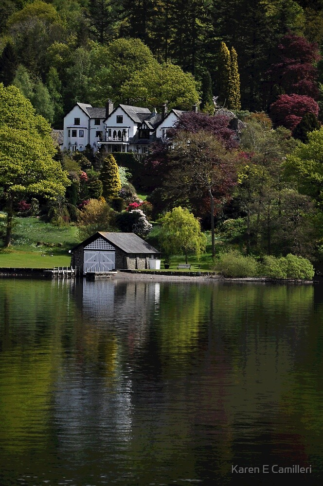On Lake Windermere by Karen E Camilleri