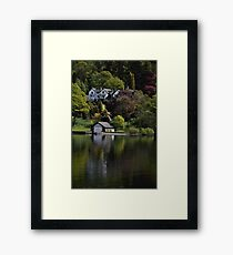 On Lake Windermere Framed Print