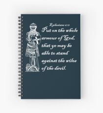 THE WHOLE ARMOUR OF GOD Spiral Notebook