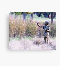 Catching Canvas Print