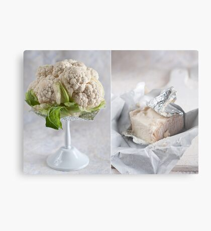 Cauliflower and cheese Metal Print