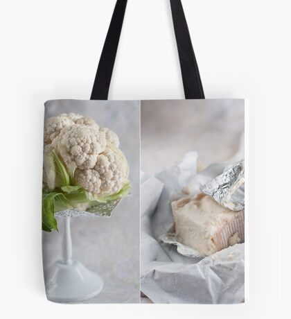 Cauliflower and cheese Tote Bag