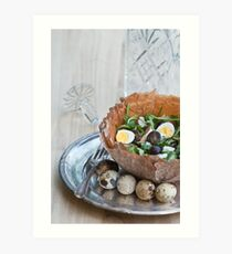 Bowl of Salad Art Print