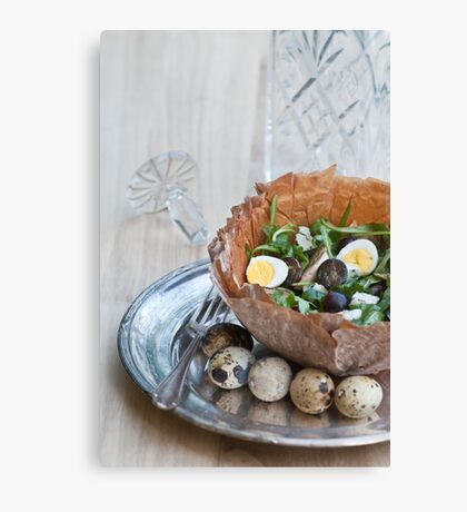 Bowl of Salad Canvas Print