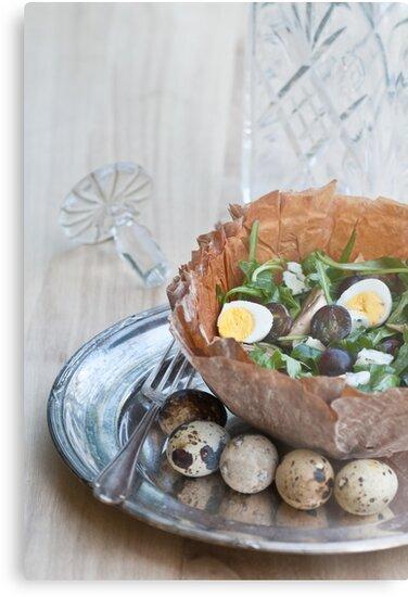 Bowl of Salad by Ilva Beretta