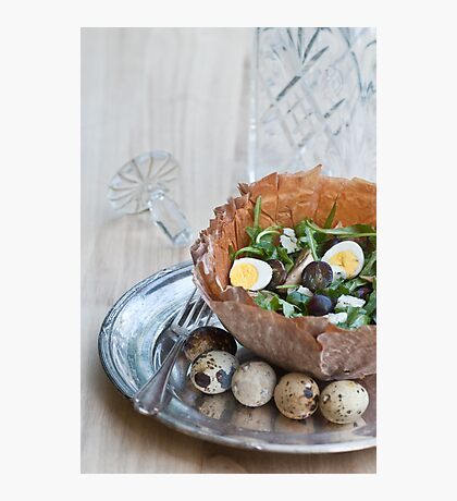 Bowl of Salad Photographic Print