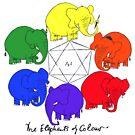 The Elephants of Colour by johnkratovil