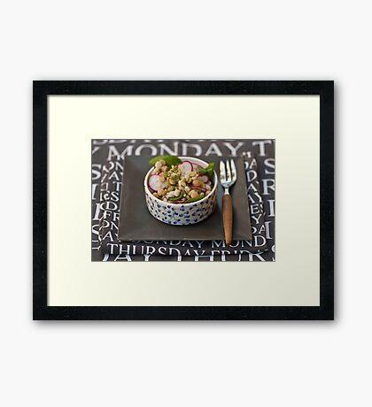 Lunch?  Framed Print