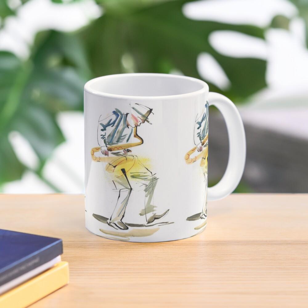 Saxophone Musician art Mug