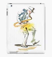 Saxophone Musician art iPad Case/Skin