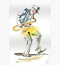 Saxophone Musician art Poster