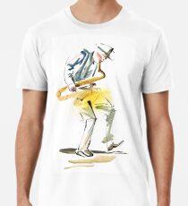 Saxophone Musician art Premium T-Shirt