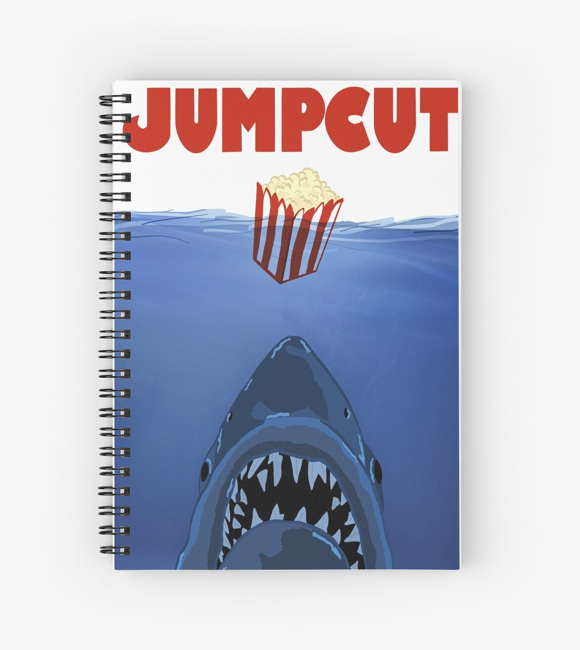 'Pop In The Water' Spiral Notebook by JUMPCUTONLINE