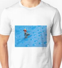 The Diver Among Water Drops T-Shirt